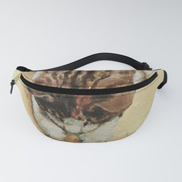 Calico Cat and Toy Mouse Fanny Pack