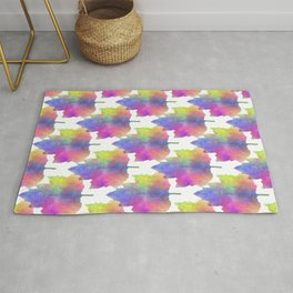 Blues Of Nature Rug