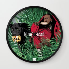 King's dead Wall Clock