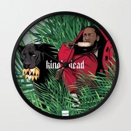King's dead Wall Clock
