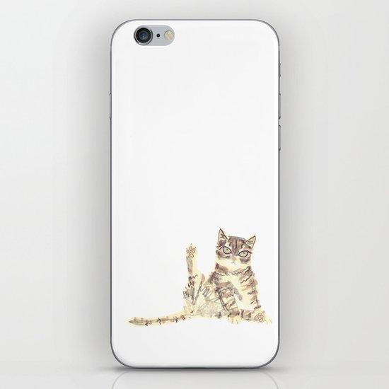 Cheeky Kitty Cat iPhone Skin