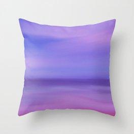 Where The Sky Meets the Ocean Throw Pillow