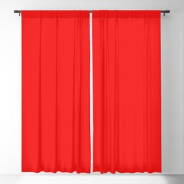 Fiery Red Blackout Curtain
