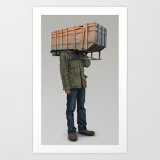 I built it for myself Art Print