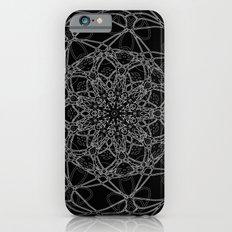 mandala in black Slim Case iPhone 6s
