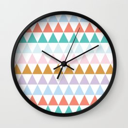Colour of Spring 3 Wall Clock