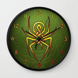 Arachnid-knot Wall Clock