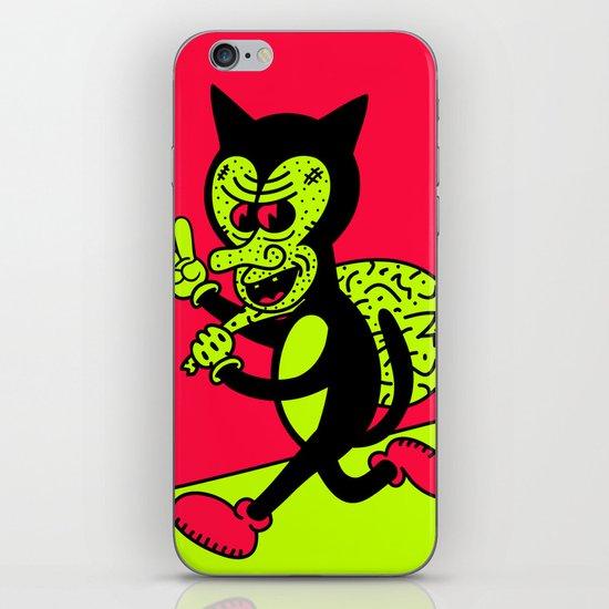 THE CAT BURGLAR. iPhone & iPod Skin