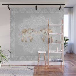 ALHAMBRA ELEPHANT GREY by Monika Strigel Wall Mural