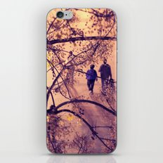 Over the city iPhone & iPod Skin