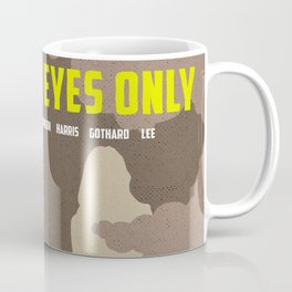 James Bond Golden Era Series :: For Your Eyes Only Coffee Mug