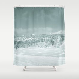 Winter day4 Shower Curtain