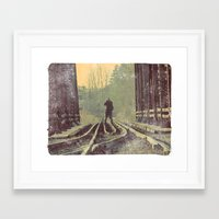 photographer Framed Art Prints featuring Photographer by Jean-François Dupuis