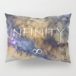 Milky way. Infinity. Scorpius and Sagittarius. Pillow Sham