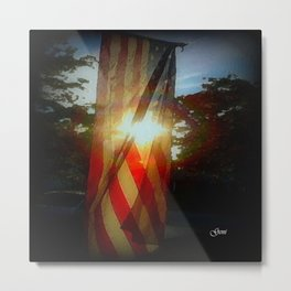 'Day is done' Metal Print