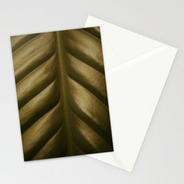 Peace Lily, dark Stationery Cards