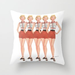 The Stepford Wives Throw Pillow
