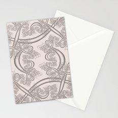 Bridal Blush Fractal Stationery Cards