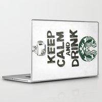 starbucks Laptop & iPad Skins featuring Starbucks by jrgff