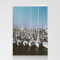 boats Stationery Cards featuring Boats by usfromars