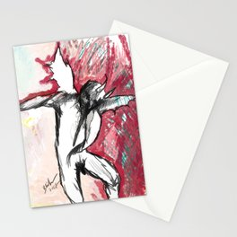 A Demon Dances Stationery Cards