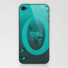 Mermaid At Heart iPhone & iPod Skin