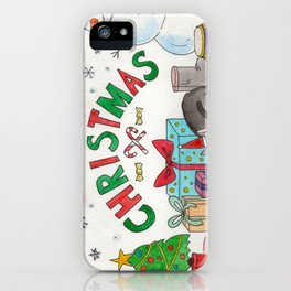 Christmas Card! iPhone Case
