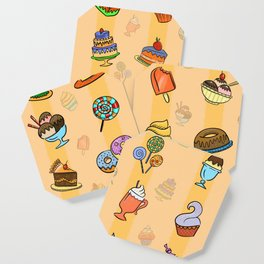 Whimsy desserts Coaster