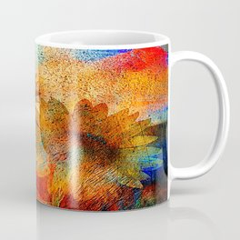 sunflower vintage Coffee Mug