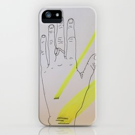 Light iPhone Case