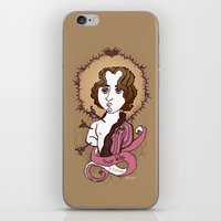 oscar wilde iPhone & iPod Skins featuring Oscar Wilde Holy Writer by roberto lanznaster