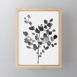 Watercolor Leaves II Framed Mini Art Print