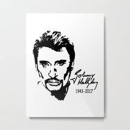 Johnny Hallyday Exclusive Metal Print