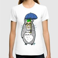 hayao miyazaki T-shirts featuring Hayao Miyazaki IS... Tortoro.  Is this his goodbye? by beetoons