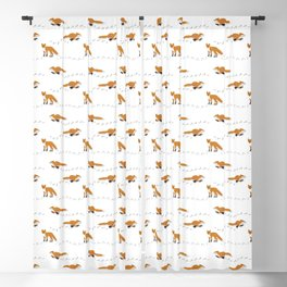 Fox Tracks Blackout Curtain