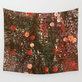 Encaustic Experiment Wall Tapestry
