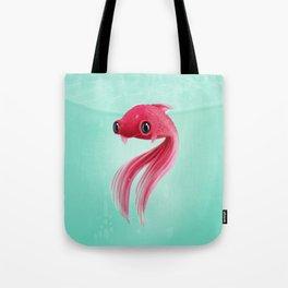 Little Fish Coy Koi Tote Bag