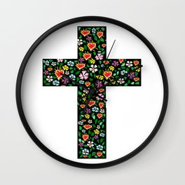 Christ Cross Wall Clock