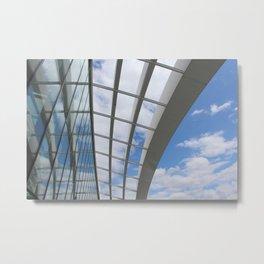 Sky Garden Rooftop, London Metal Print