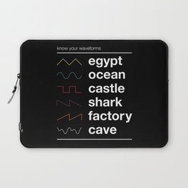Know your Waveforms Laptop Sleeve