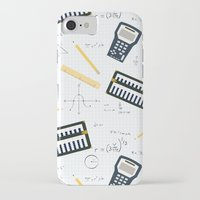 math iPhone & iPod Cases featuring Math by S. Vaeth