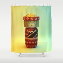 Silent Thread Shower Curtain