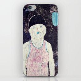 swimmer #1 iPhone Skin