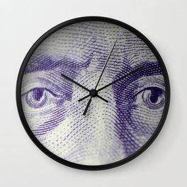 Eyes of Sir MacDonald  Wall Clock