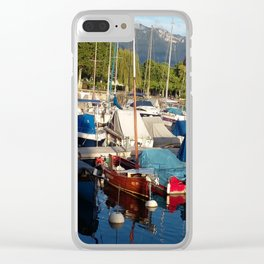 Yachts II Clear iPhone Case