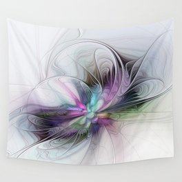 New Life, Abstract Fractals Art Wall Tapestry