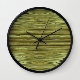Abstraction Serenity in Pinewood Wall Clock
