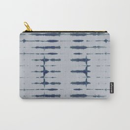 Shibori Lines Carry-All Pouch