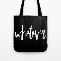 whatever Tote Bags featuring Whatever by Five West
