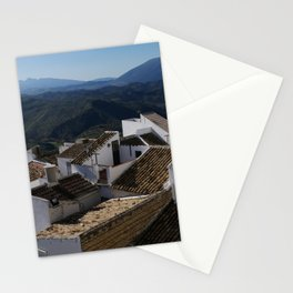Roofs of Olvera Stationery Cards